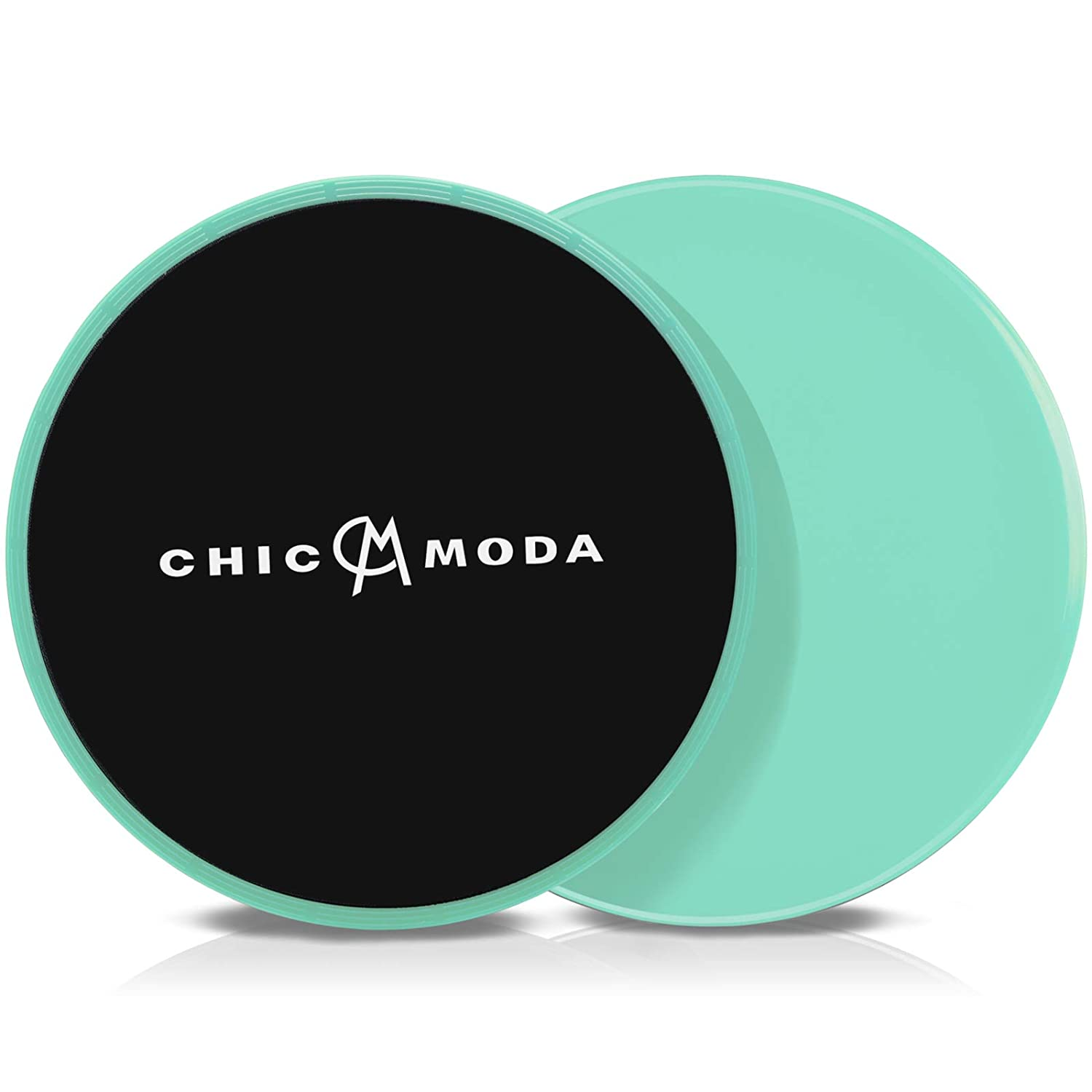 CHICMODA Gliding Discs Core Sliders, Dual Sided Disks Fitness Equipment for Abdominal, Home Exercises to Strengthen Core, Glutes, and Abs, Used on Carpet or Hard Floors with Carry Bag