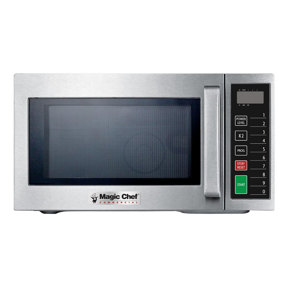 Magic Chef MCCM910ST 0.9 cu.ft. Commercial Microwave, Stainless Steel by Magic Chef
