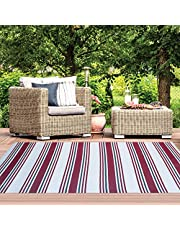iCustomRug Oudoor Rug Collection - Reversible Picnic and Beach Area Rug, Perfect for Patio, Camping, BBQ & More