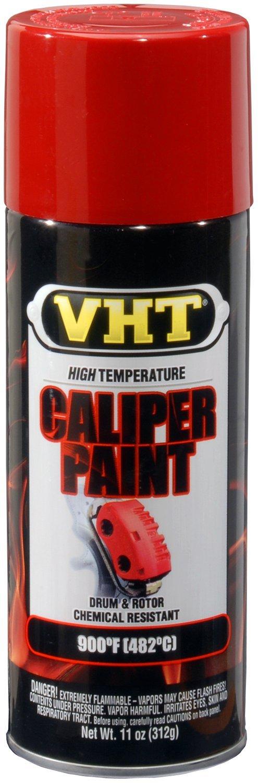 VHT (SP731-6 PK Real Red High Temperature Brake Caliper Paint - 11 oz. Aerosol, (Case of 6)