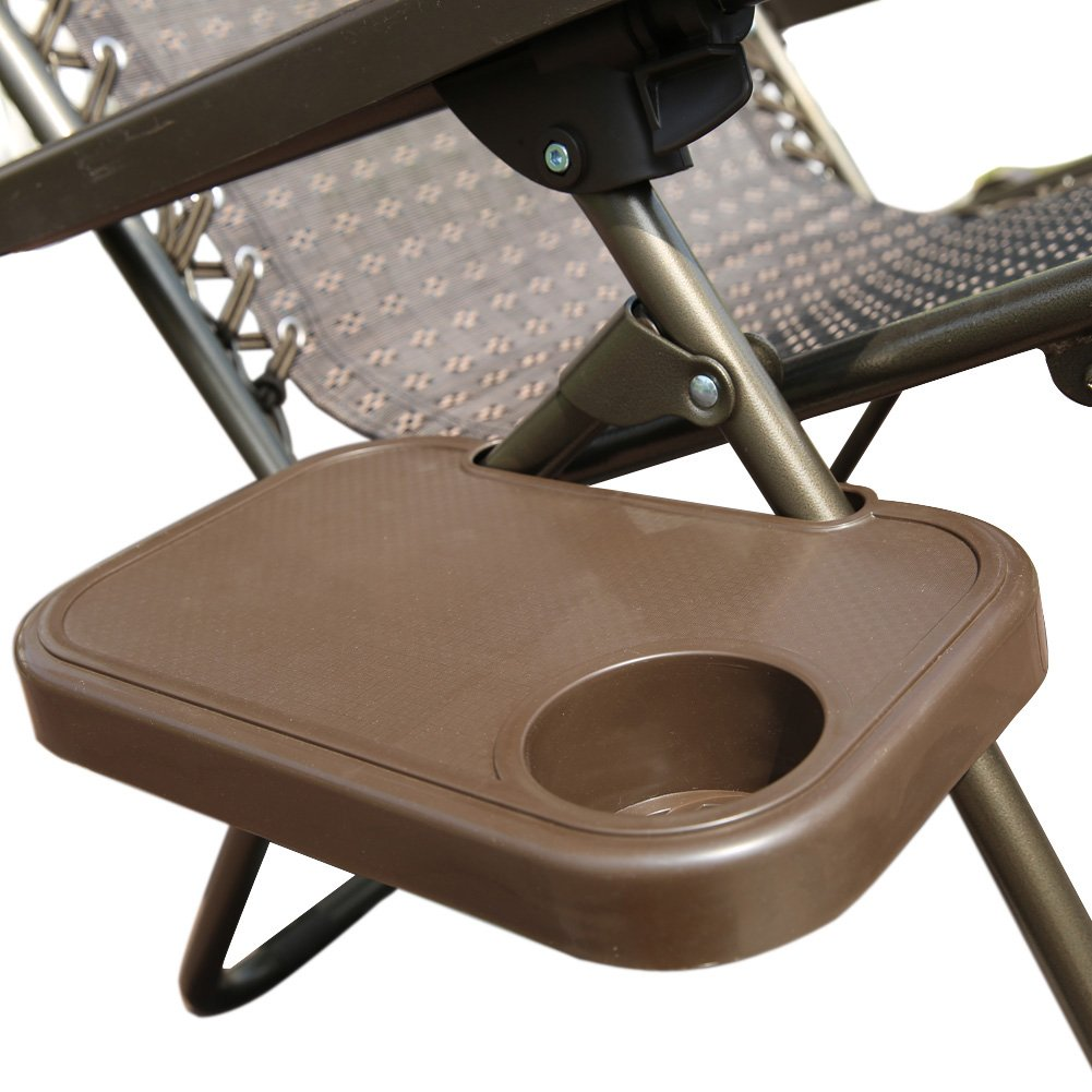 Food Tray For Recliner: Abba Patio Oversized Recliner Zero Gravity Chair With