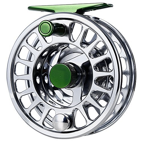 BluFied Fly Reel Fishing Reel with Stainless Steel Ball Bearings Aluminum Alloy CNC Machined Body 3/4, 5/6, 7/8 for Saltwater Freshwater For Sale