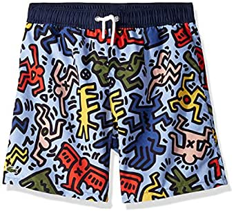 Amazon.com: Lacoste Boy Keith Haring All Over Print