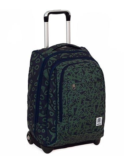 3dce8141f9 TROLLEY INVICTA - Extra - Bump - Verde - Blu - 45 LT spallacci a scomparsa
