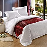 JINGJIE Hotels Bed Decoration Bed runner,Star Hotels Bedclothes Luxury Bed runner-A 50x240cm(20x94inch)