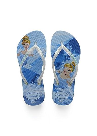 e83239c4b Havaianas Girls  Slim Princess Flip Flops  Amazon.co.uk  Shoes   Bags