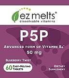 EZ Melts P5P, 50 mg, Sublingual