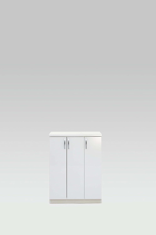 国産完成品マカロン74L ホワイト B00UJ8FQ5M