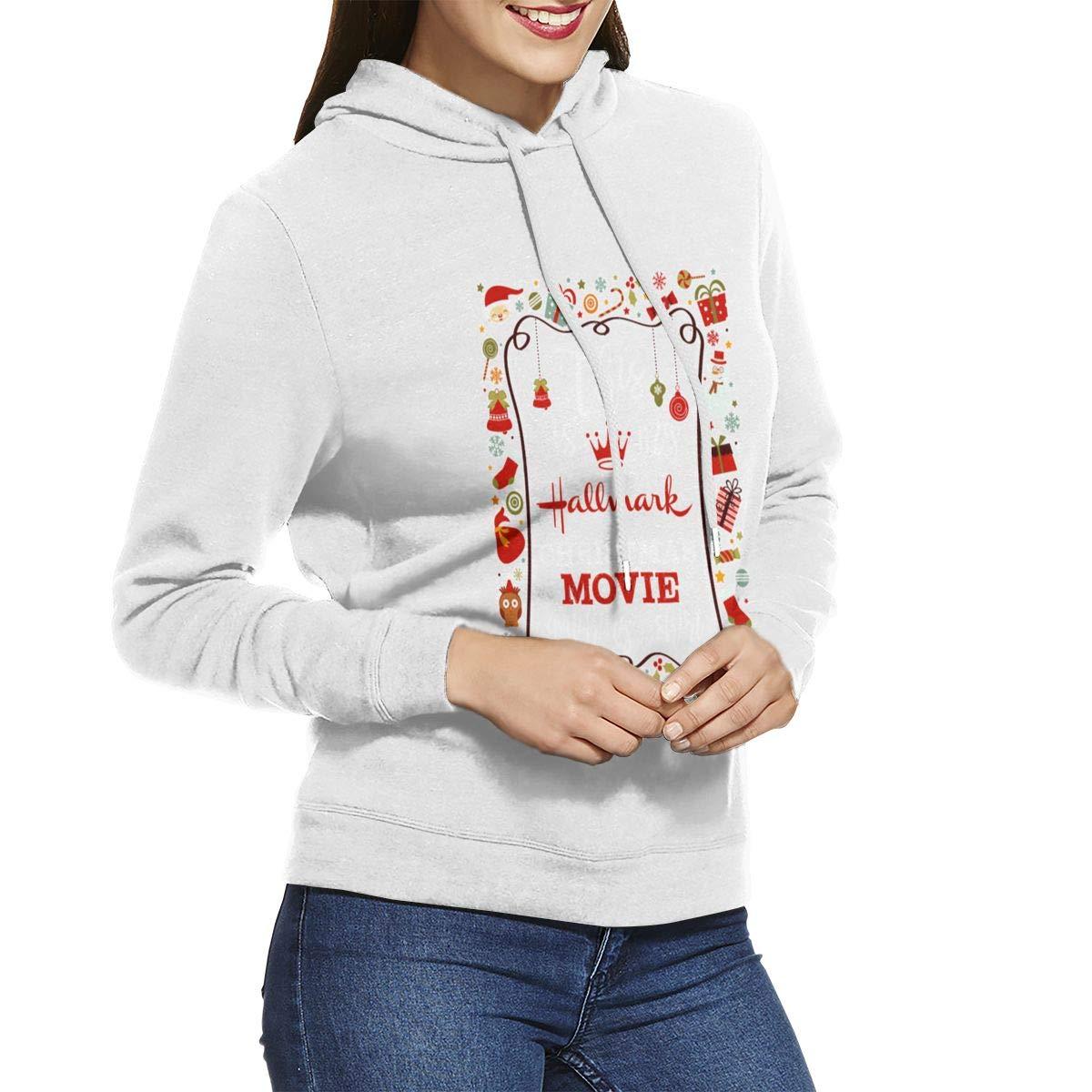 This is My Hallmark Christmas Movie Shirt Womens Hoodie Jacket Pullover