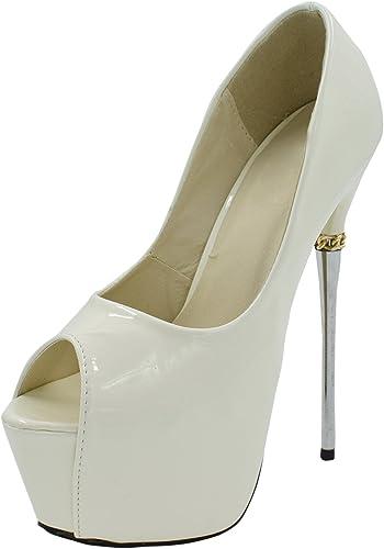 Oasap Damen Offen High Heel Stiletto Pumps