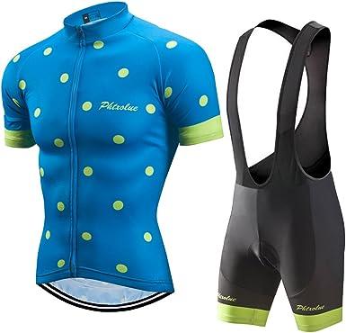 Bib Set Regular /& Big /& Tall Men/'s Cycling Short Sleeve Set Bicycle Shirt
