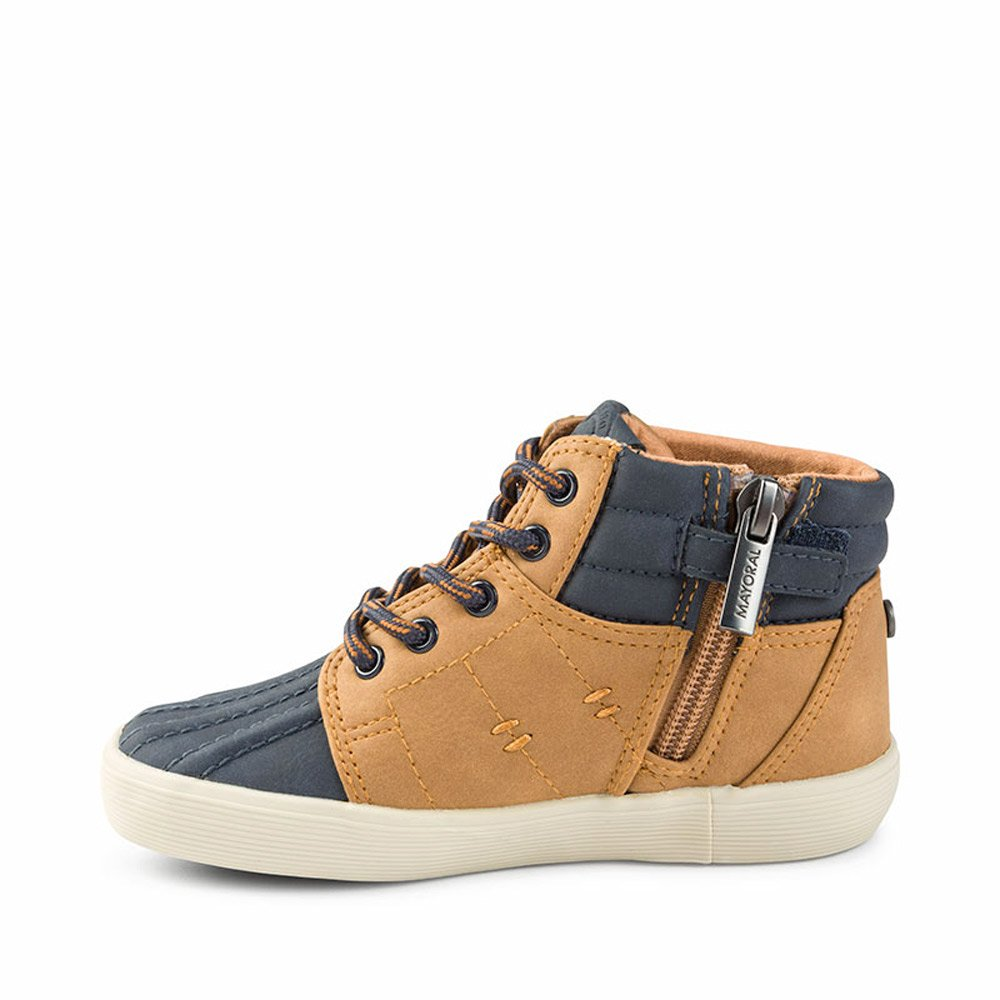 e289e655b Mayoral Zapato Botin Niño Camel T26-35  Amazon.es  Zapatos y complementos