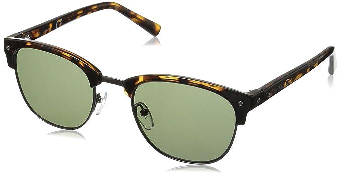 53d9071acb0c Amazon.com  Calvin Klein Men s R736S Oval Sunglasses Dark Tortoise ...