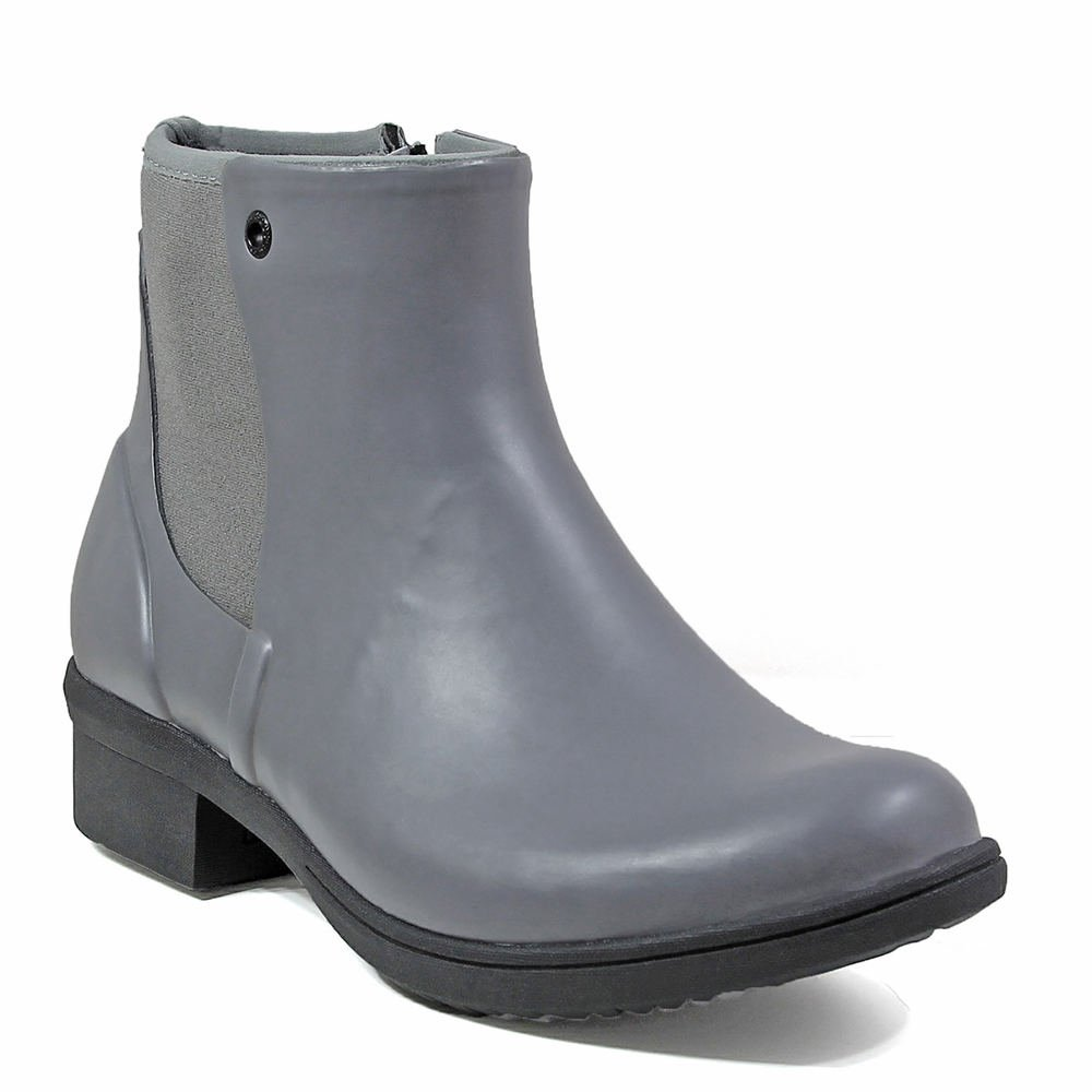 Bogs Women's Auburn Chukka Boot B01NBVQ34Q 9 B(M) US|Gray