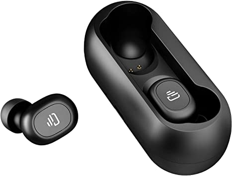 Amazon Com Dudios True Wireless Headphone Bluetooth 5 0 Earbuds Hifi Stereo Sound Mini In Ear Headset One Button Control 15 Hrs Playtime Auto Pairing Upgraded Version Electronics