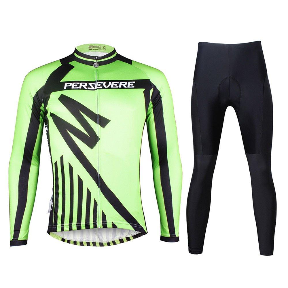 Männer Radtrikot Volle Hülse Reitbekleidung Langarm T-Shirts Hosen Radfahren Strumpfhosen Leggings Outdoor Radfahrer Reiten Bike Wear