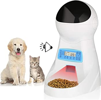 amzdeal Automatic Dog Feeder with Timer Programmable