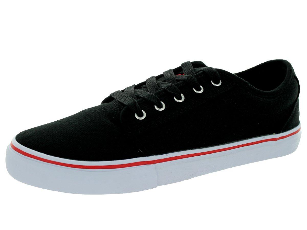 Adio Mens Melbourne Black/Red Skate Shoe 7.5 Men US