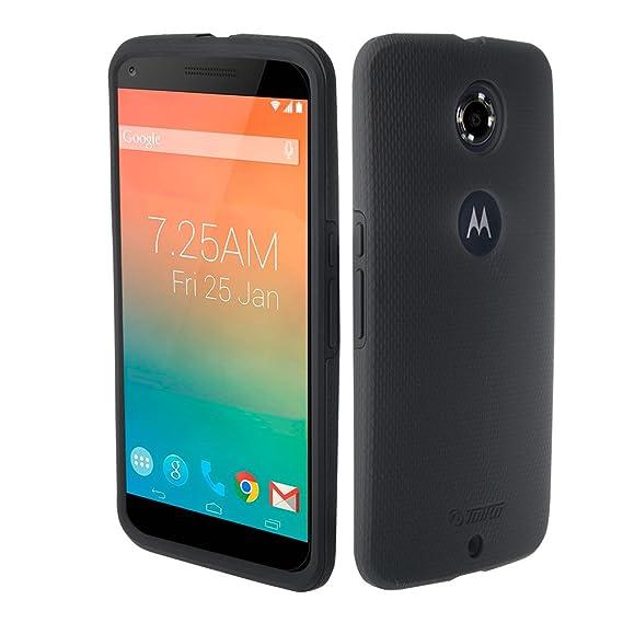 buy online f6b61 195ec Nexus 6 Case, 2 in 1 Phone Case for Google Nexus 6/Motorola Nexus 6  Full-Body Protective Impact Resistant Bumpers Cover for Nexus 6-Black