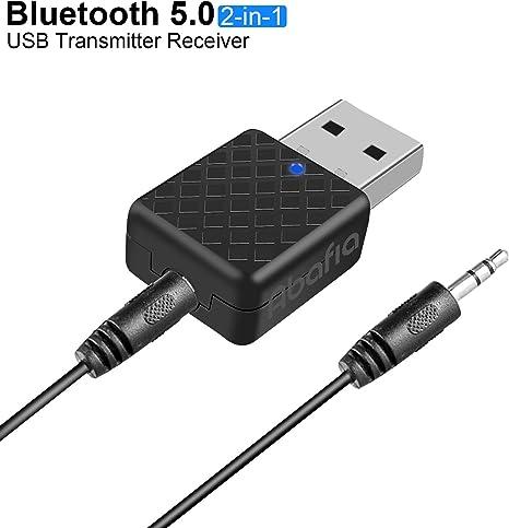 MINI USB ADATTATORE BLUETOOTH AUX 3.5 MM AUTO IMPIANTO STEREO CASA