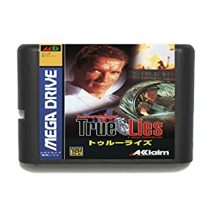 ROMGame True Lies 16 Bit Md Game Card For Sega Mega Drive For Genesis