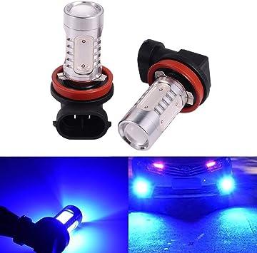 2pcs H7 Headlight Bulbs Super White Head Side light 12v Led Driving Running Lamp