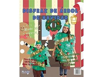 Niefenver Disfraz Bolsa Plástico Árbol Navidad: Amazon.es ...