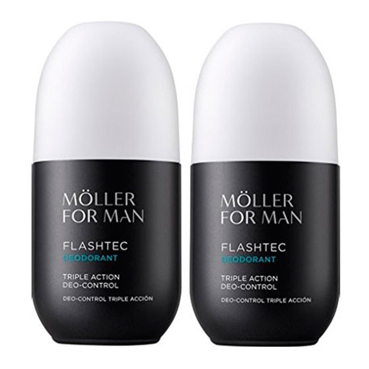 Anne Moller For Man Flashtec Triple Action Deo Control Cosmética Hombre - 1 pack 8423986012751