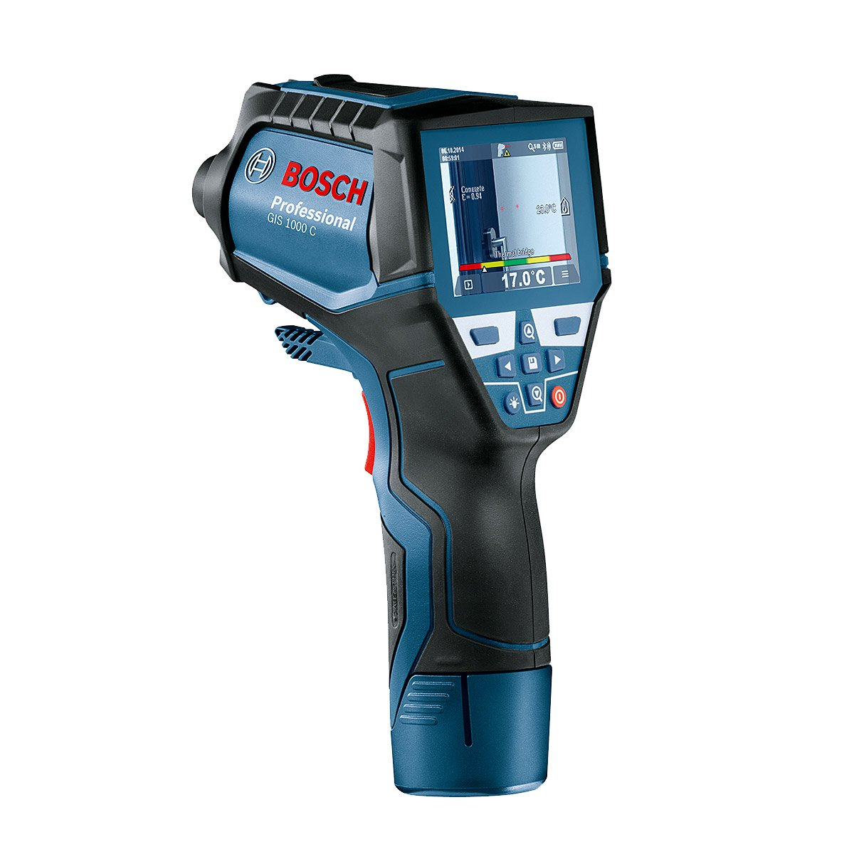 Bosch GIS 1000C Thermo Detector Infrared Scanner Thermometer Imager Hygrometer