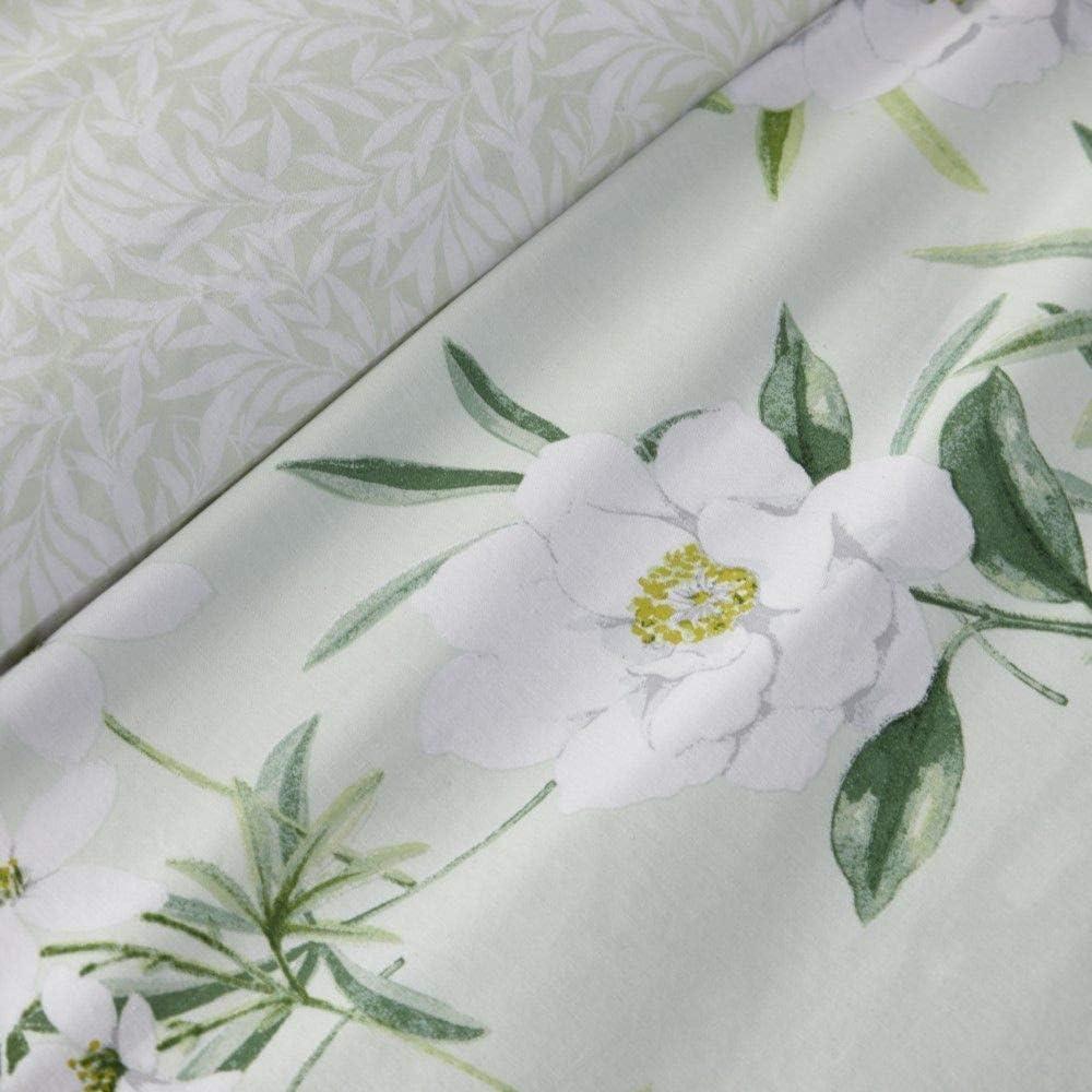 Verde Dreams /& Drapes 52/% Poliestere copriletto 48/% Cotone