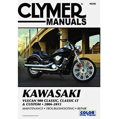 Amazon.com: Clymer Kawasaki Vulcan 900 Clic, Clic LT & Custom ... on