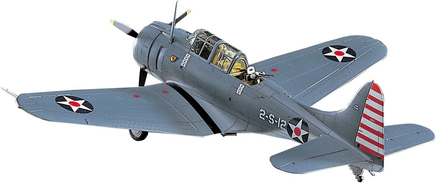 Hasegawa 1:48 Scale Douglas SBD-3 Dauntless Model Kit