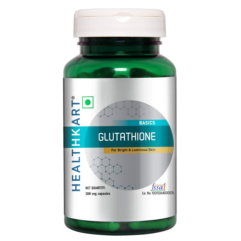 Buy HealthKart Glutathione with Vitamin C & E, Biotin, Grape Seed