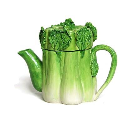 Miniature Dollhouse FAIRY GARDEN Accessories Green Bell Pepper Vegetable Teapot