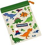 スケーター 子供用 コップ袋 ディノサウルス