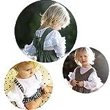 YOHA Baby Girls Spring Autumn Ruffle Top Blouse