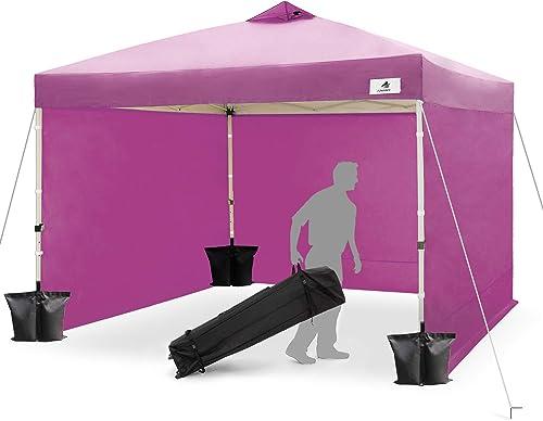 Finfree 10×10 FT Compact Ez Pop up Canopy Tent Outdoor