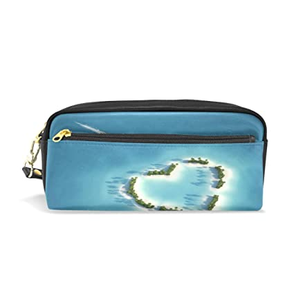 amazon com jennifer portable pouch yacht heading to heart shaped