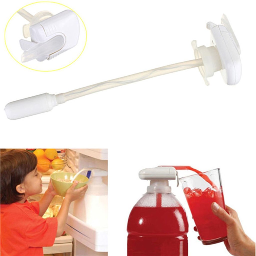 Amazon.com: Automatic Drinks Dispenser Fruit Juice Magic Tap Spill-proof Coke Dispense Gadget - White: Health & Personal Care