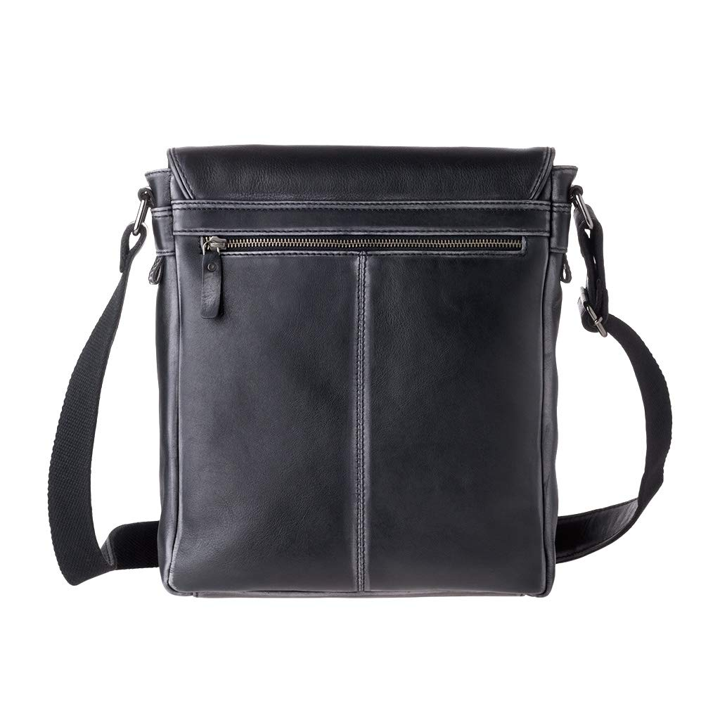 KRPENRIO Simple Retro Zip Canvas Briefcase Shoulder Bag Messenger Bag Color Brown Color : Khaki