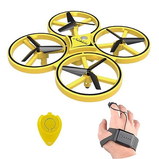 Cherish Mini Inducción Mano Control Dron RC Dron Altitud Bodega 2 ...