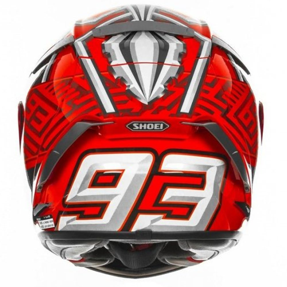Amazon.com: Shoei X-Spirit 3 Full Face Race Sports Motorcycle Helmet - Marquez XL: Automotive