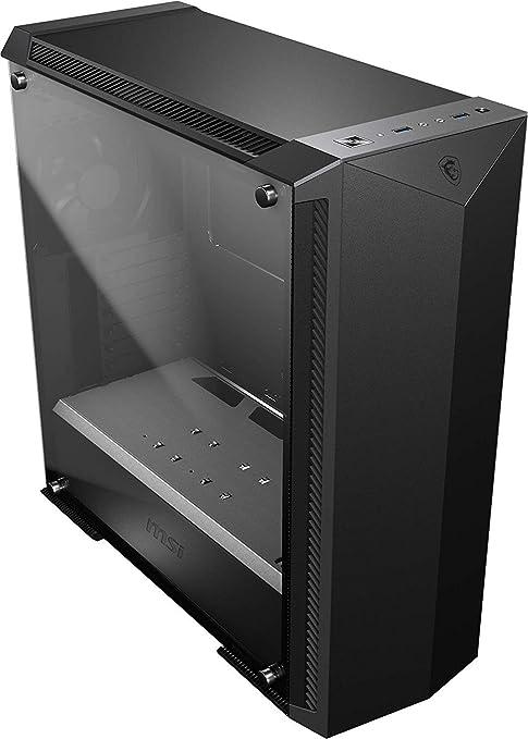 MSI MPG GUNGNIR 100P Mid-Tower Caja de PC Gaming (Negro, 1 x 120 mm Ventilador Incluido, Panel Cristal Templado, EATX, ATX, mATX, Mini-ITX): Amazon.es: Informática