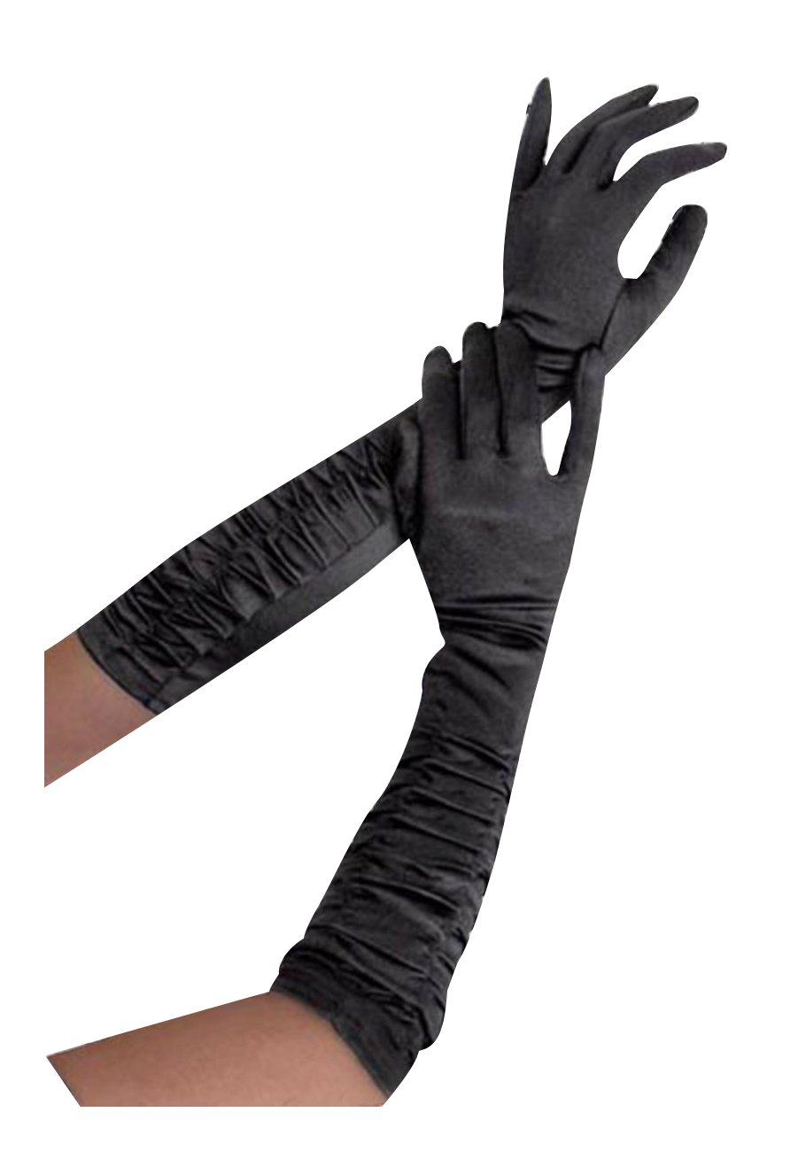 Satin Gloves by Beautys Love One-Size