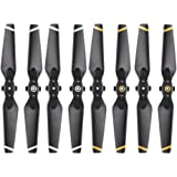 Goolsky 4Pairs FPV Drone PVC Foldable Propeller for DJI Spark RC Drone