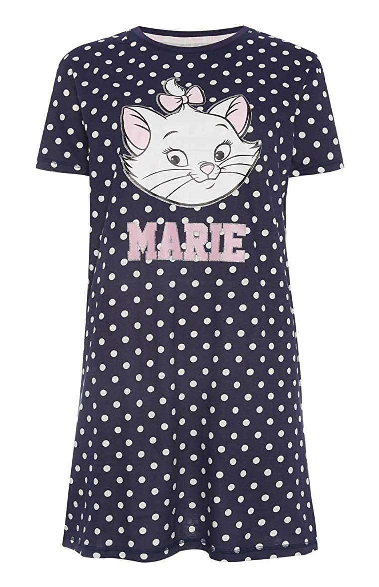df1a6d908035d Atmosphere Primark Marie Ladies Nightdress (22 24 2XL Extra Extra Large)  Blue  Amazon.co.uk  Clothing