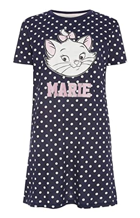 6570ea9c Atmosphere Primark Marie Ladies Nightdress (22/24 2XL Extra Extra Large)  Blue: Amazon.co.uk: Clothing