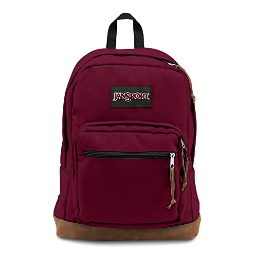 301bbe6ff Amazon.com: JanSport Right Pack Laptop Backpack - Russet Red ...