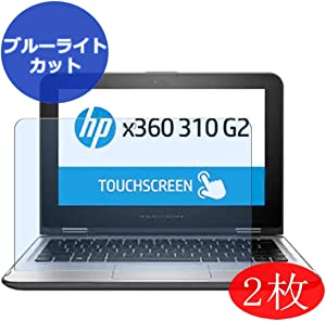 """【2 Pack】 Synvy Anti Blue Light Screen Protector for HP x360 310 G2 11.6"""" Screen Film Protective Protectors [Not Tempered Glass]"""