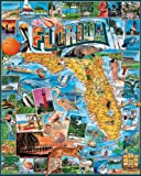 White Mountain Puzzles Florida - 1000 Piece Jigsaw Puzzle